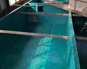 沉淀池玻璃钢防腐